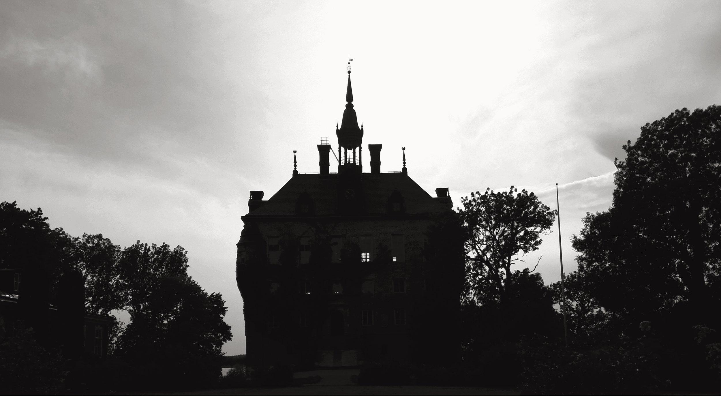 o18o8  Wiks slott. Balingsta, Uppsala (Uppland).