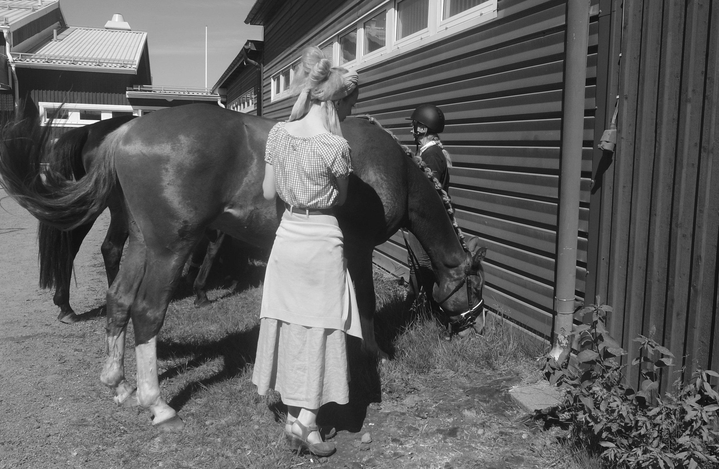 o19o615  Lo & häst (Julius).