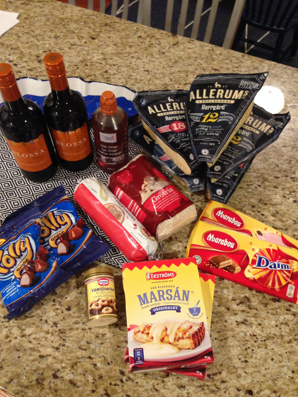 Swedish food and goodies