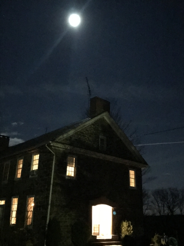 Rosemont Supper club in the moon light