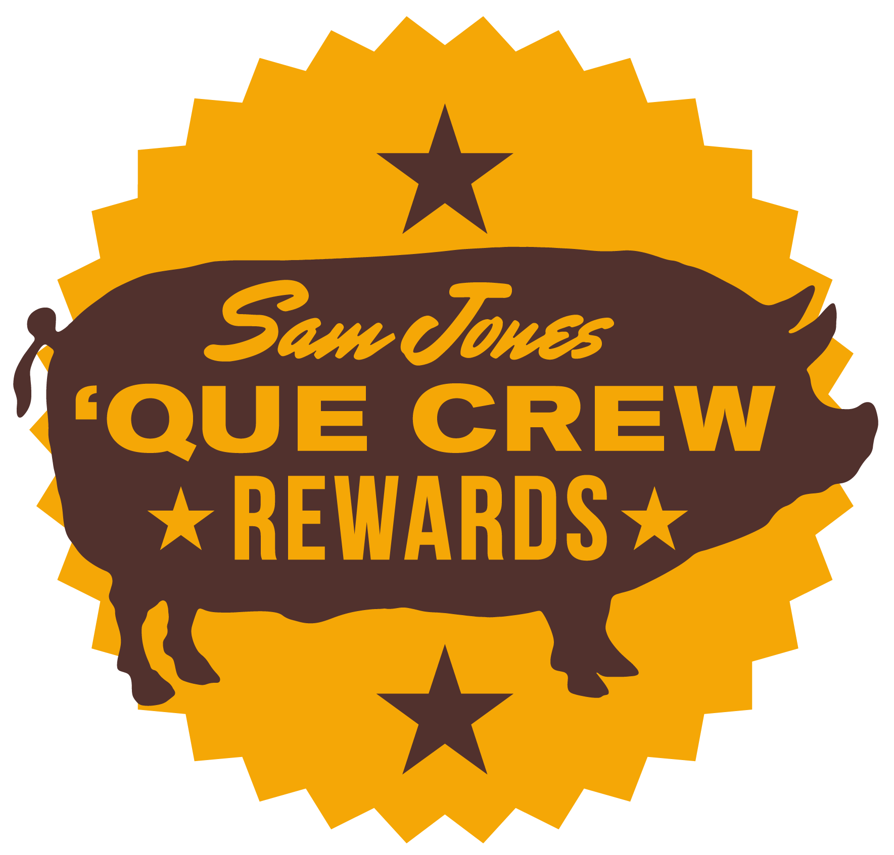 Sam Jones BBQ Que Crew Rewards