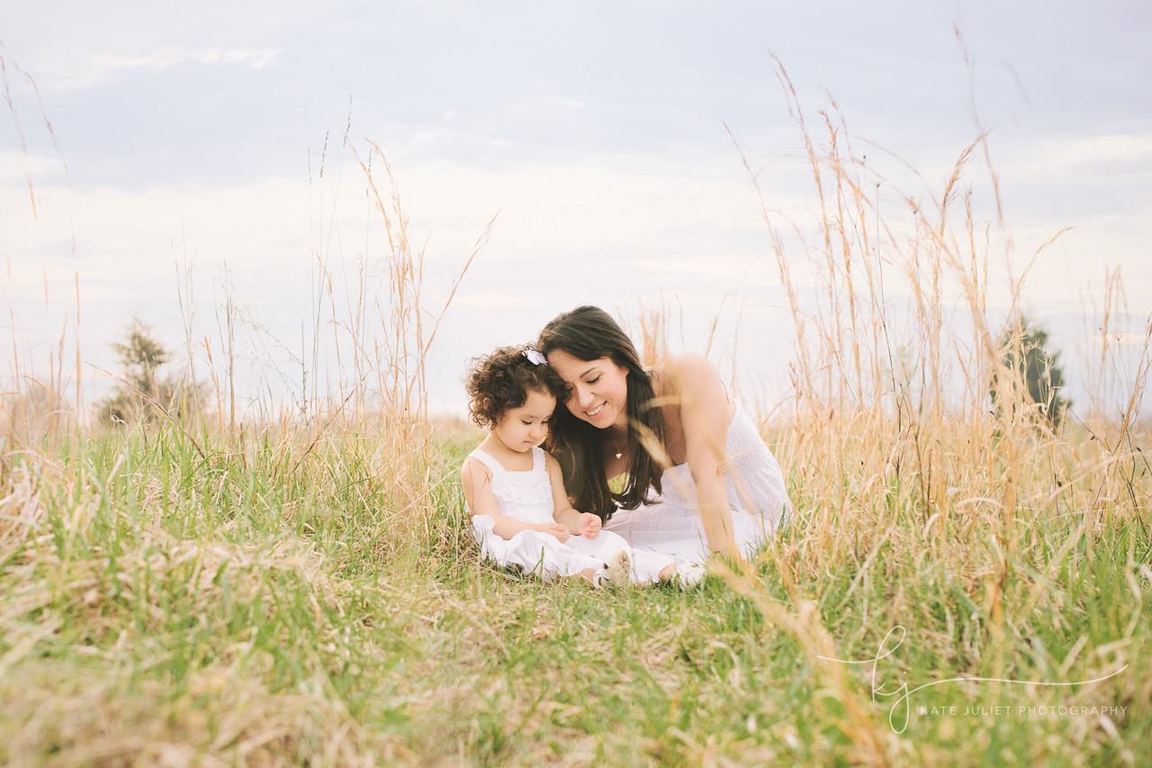 Vienna VA Mommy & Me Motherhood Family Photographer | Kate Juliet Photography