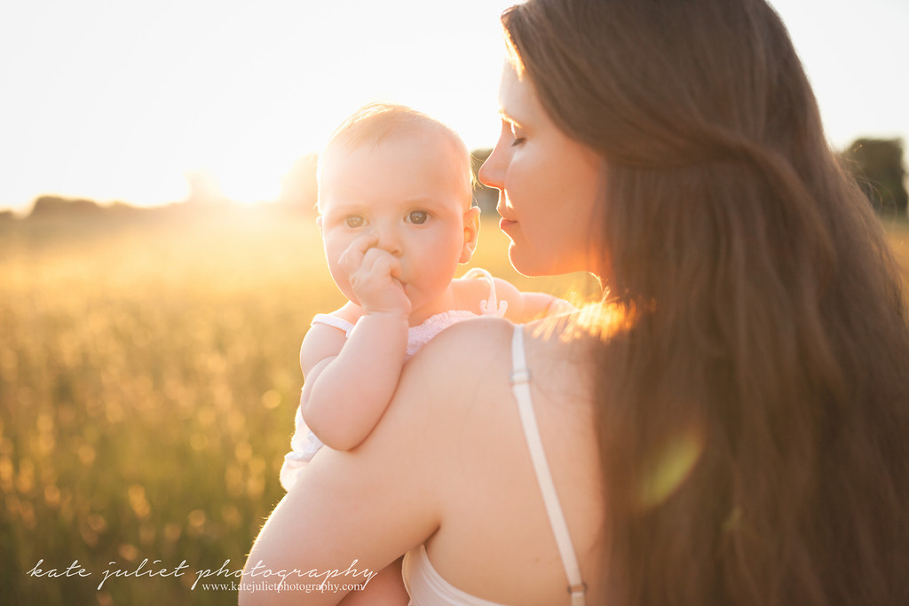 Arlington VA Mommy and Me Mother Daughter Portrait Photographer | Kate Juliet Photography