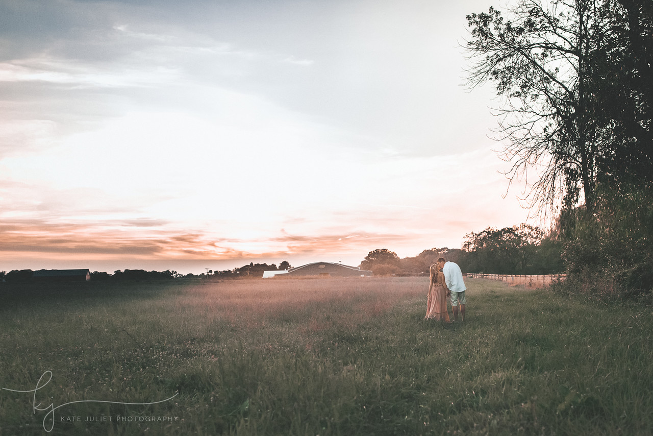 Leesburg VA Outdoor Maternity Photographer | Kate Juliet Photography
