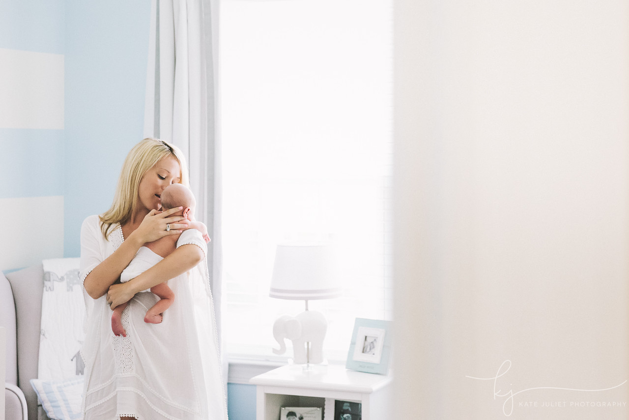 Leesburg VA Newborn Baby Photographer | Kate Juliet Photography