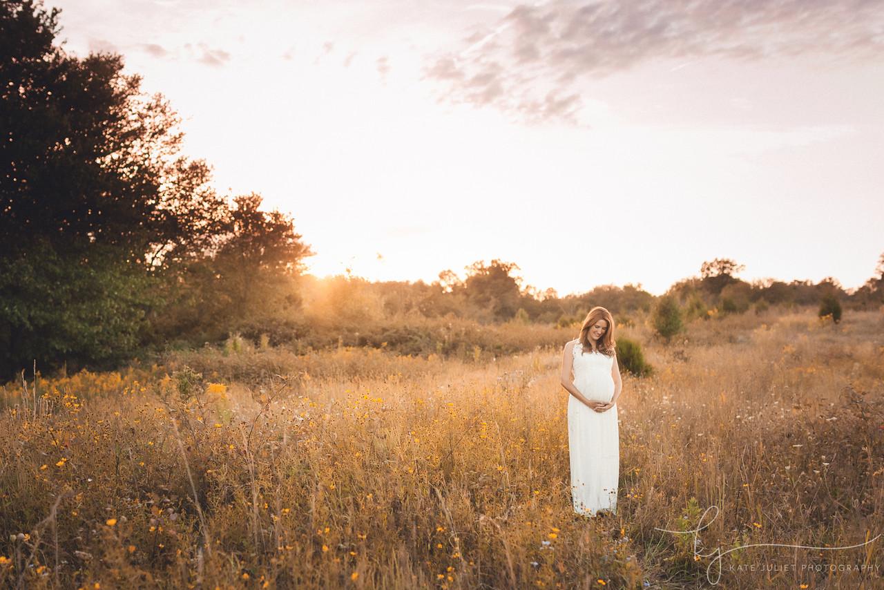Arlington VA Maternity Photographer | Kate Juliet Photography
