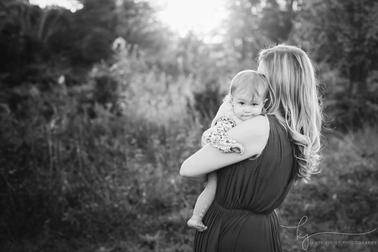 Reston VA Baby Family Photographer | Kate Juliet Photography