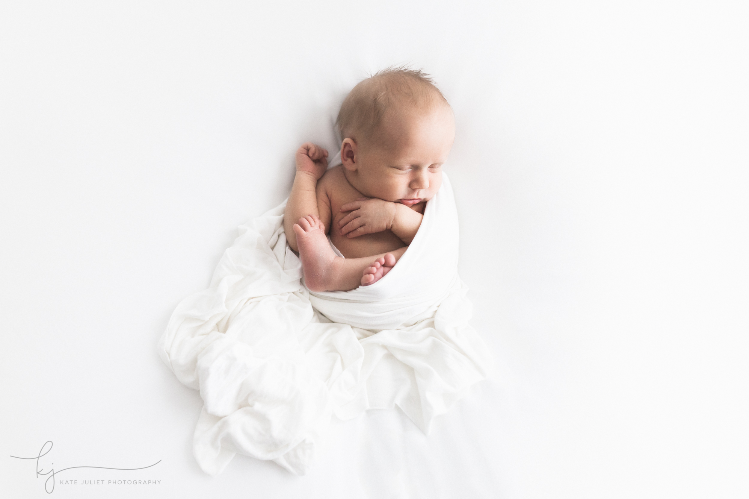 Arlington VA Fine Art Natural Newborn Photographer | Kate Juliet Photography