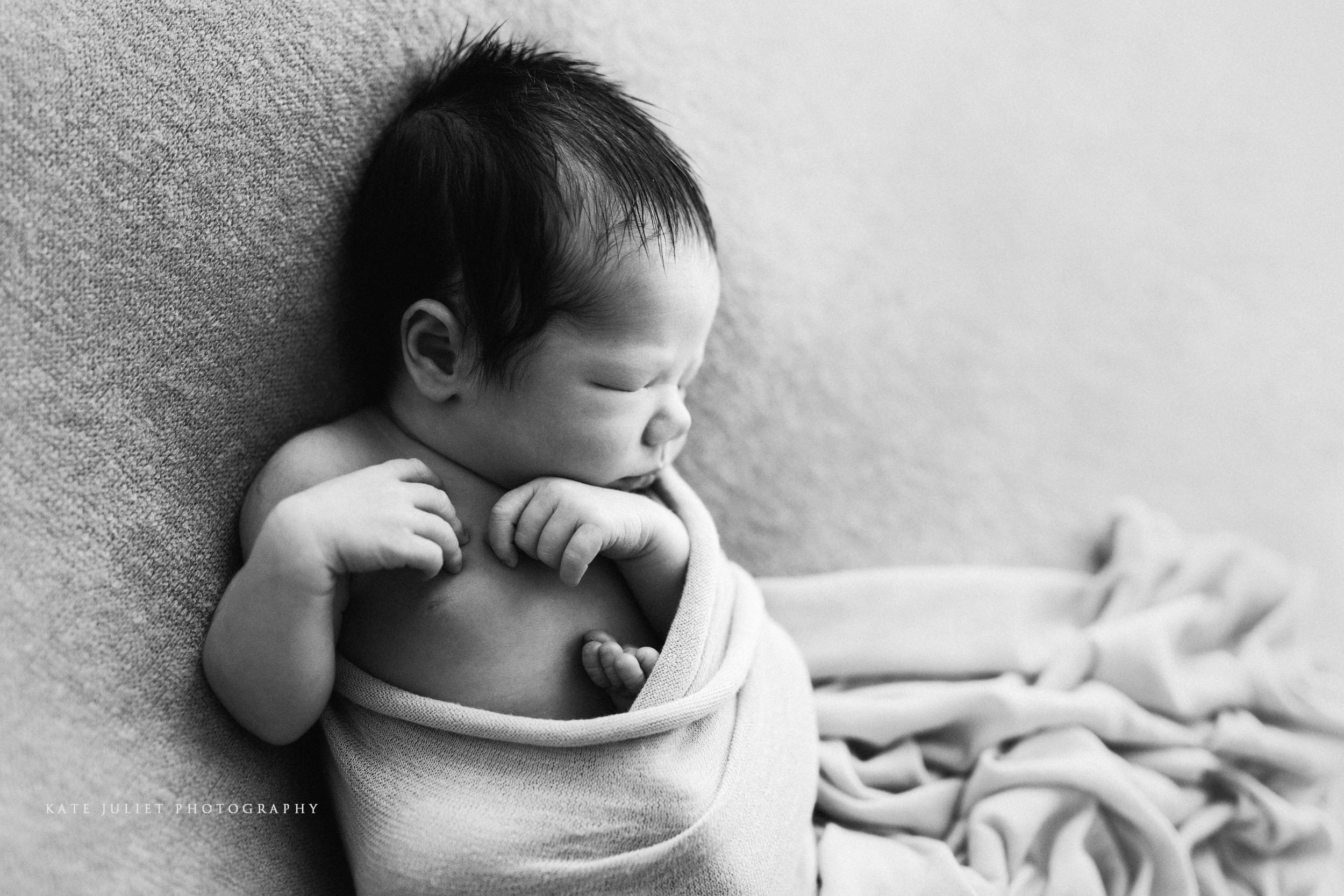 Arlington VA Newborn Baby Boy Photographer | Kate Juliet Photography