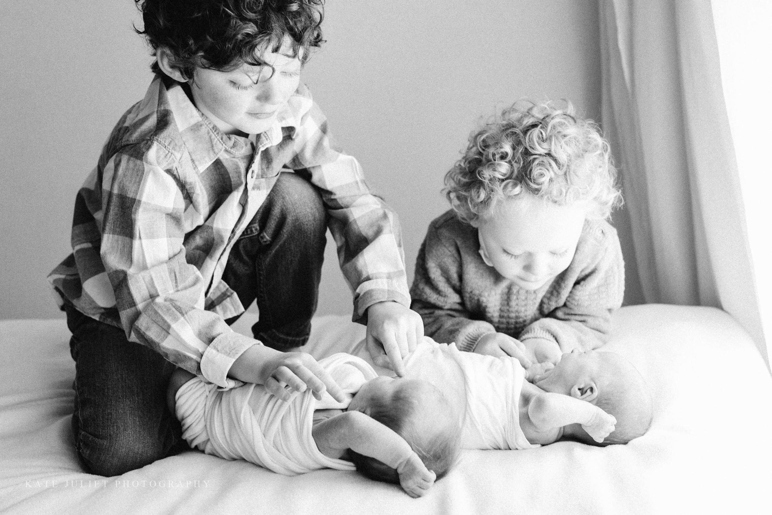 Northern VA Twin Babies Photographer | Kate Juliet Photography