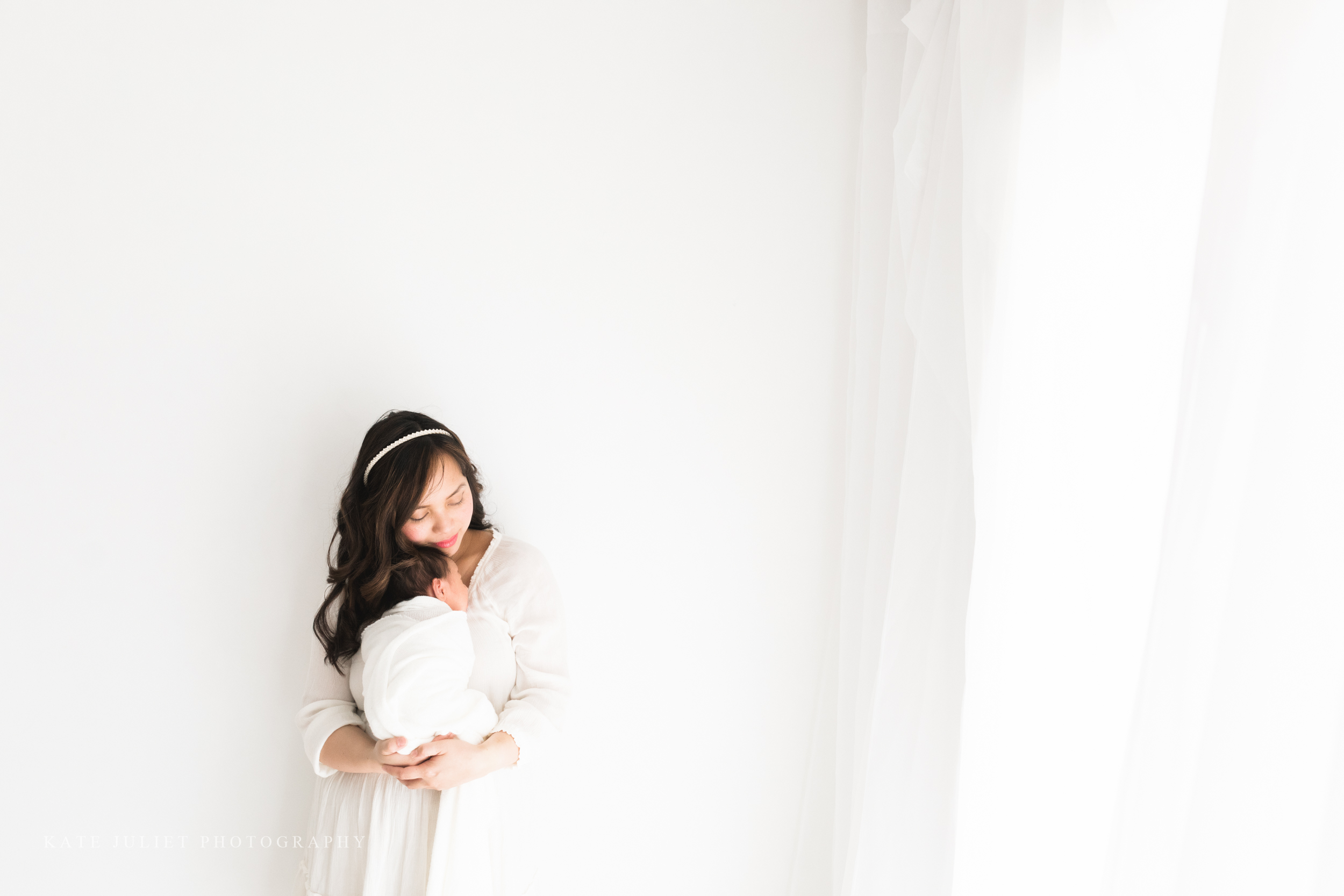 Falls Church VA Newborn Family Photographer | Kate Juliet Photography