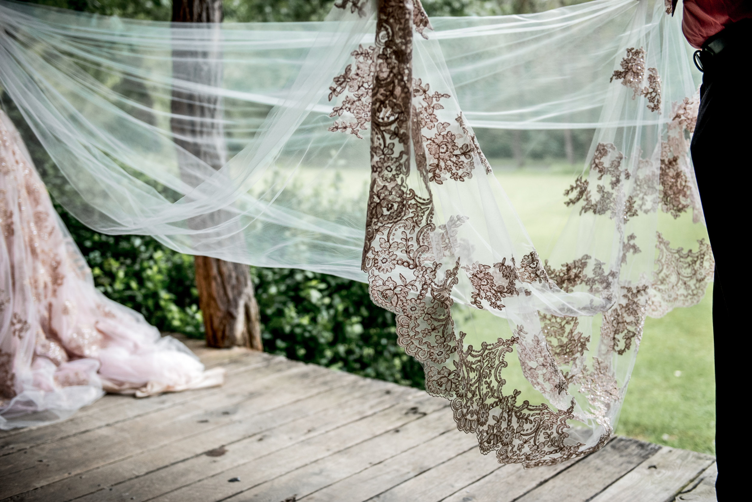 romantic cathedral veil