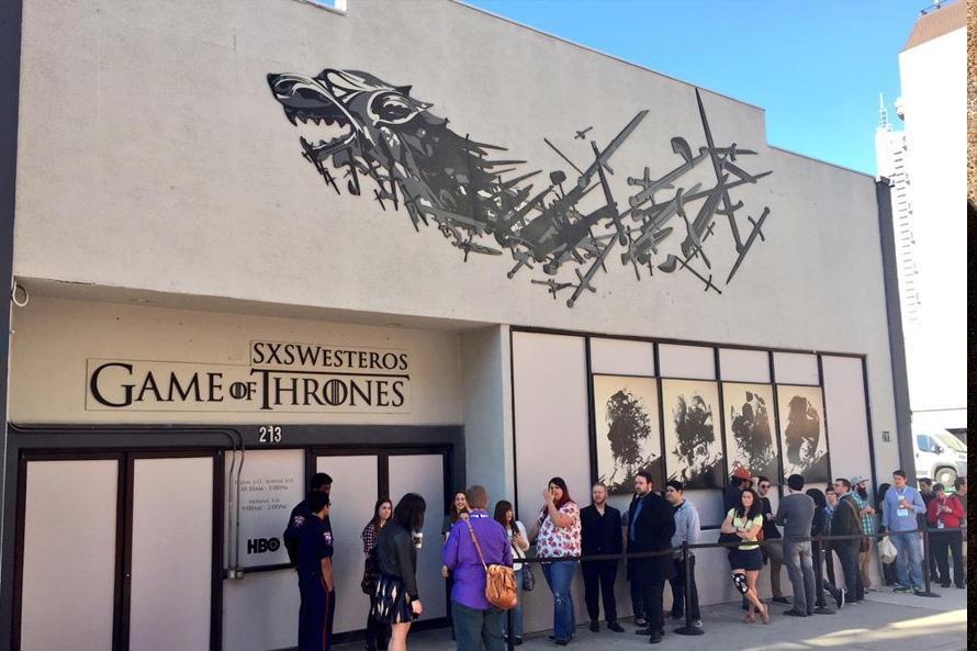 SXSW Game of Thrones