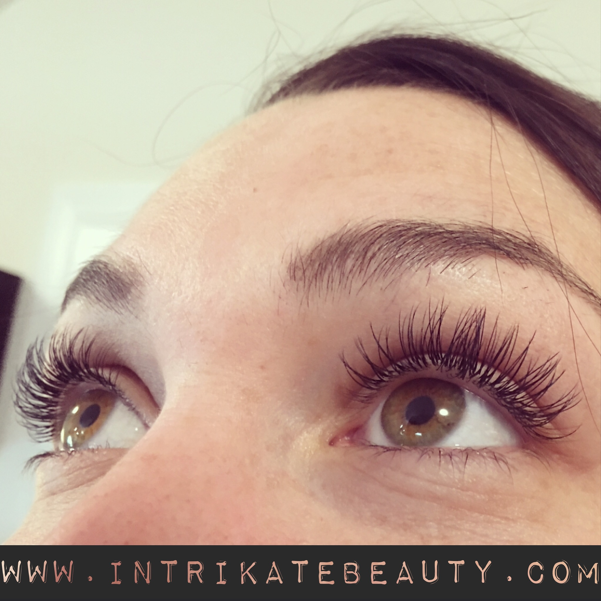 after Xtreme Lashes® eyelash extension application