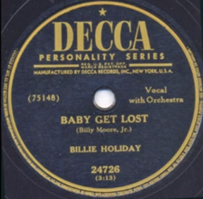 Baby Get Lost on Decca