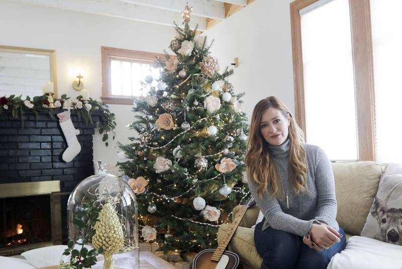 Homeowner Rebekah Higgs at 8 Alderwood Drive in Halifax, one of the homes on display for the Homes for the Holidays fundraiser. - Eric Wynne