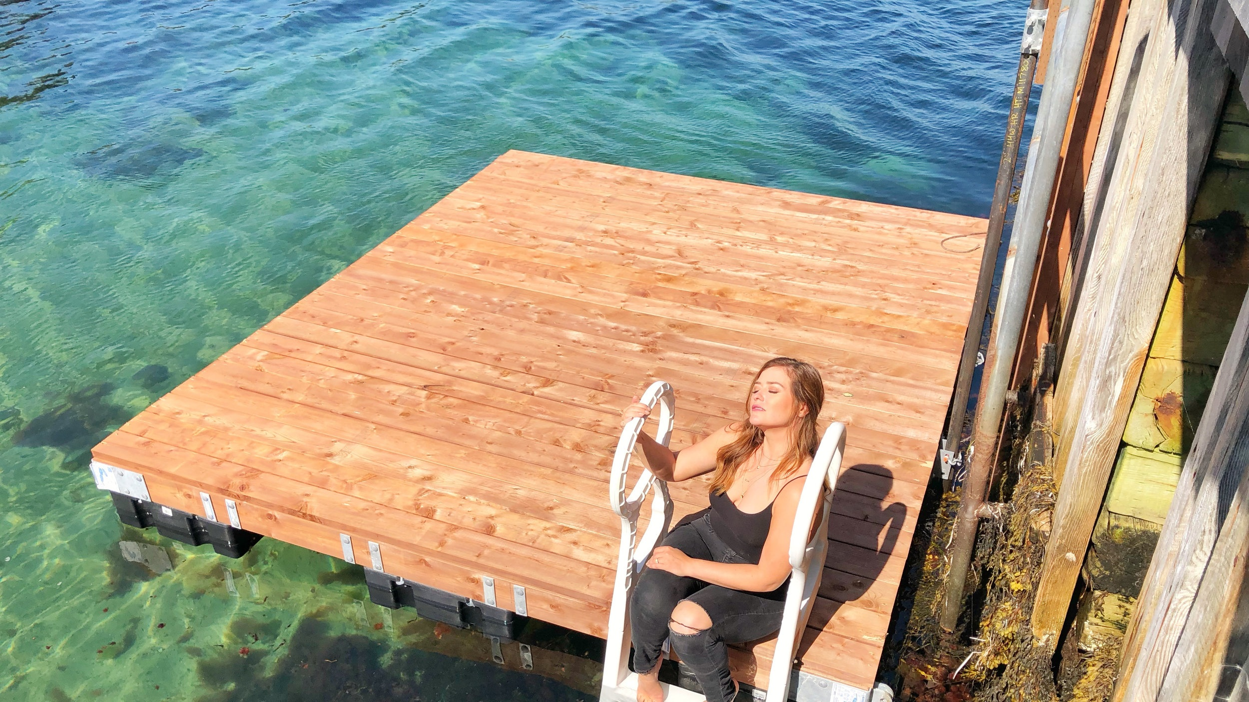 FLOATING DOCK - With Home Hardware's Backyard Project Packages