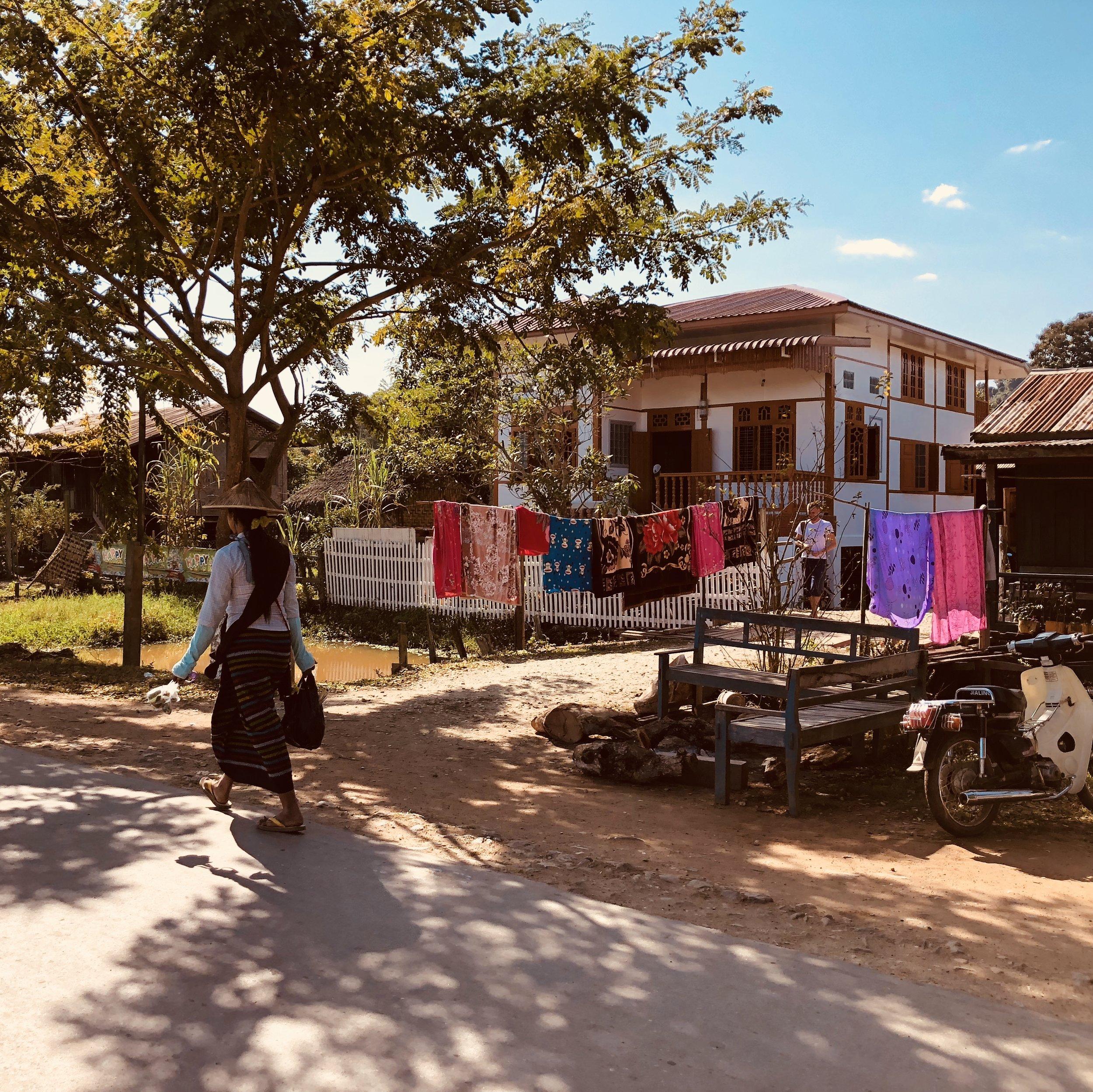 My accommodation, the Phyu Homestay