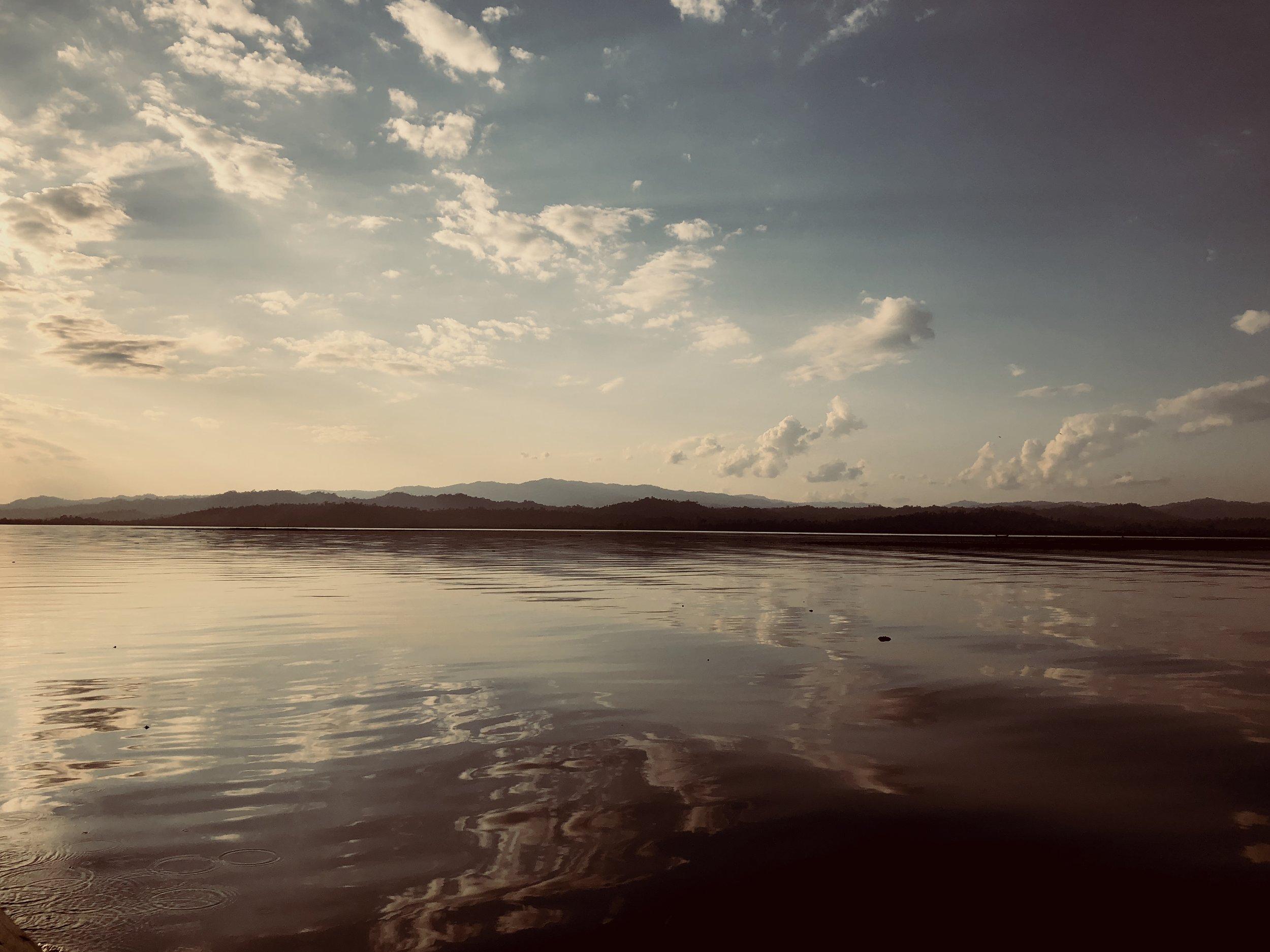 The beautiful Lake Indawgyi