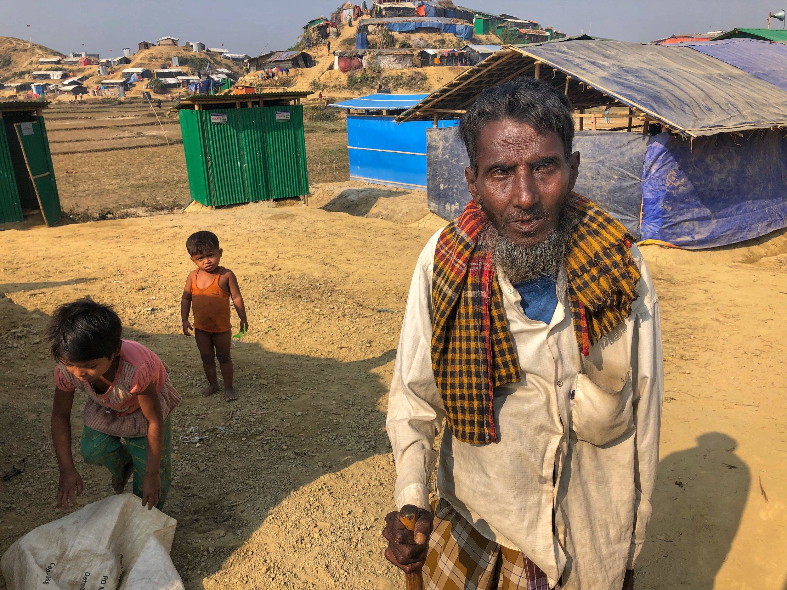 Displaced and dispossessed with nowhere to go. Unless international intervention succeeds, the future looks bleak for the Rohingya.