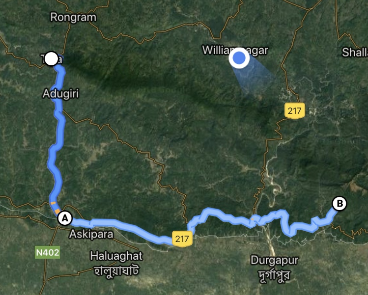Another long, fascinating road trip awaited