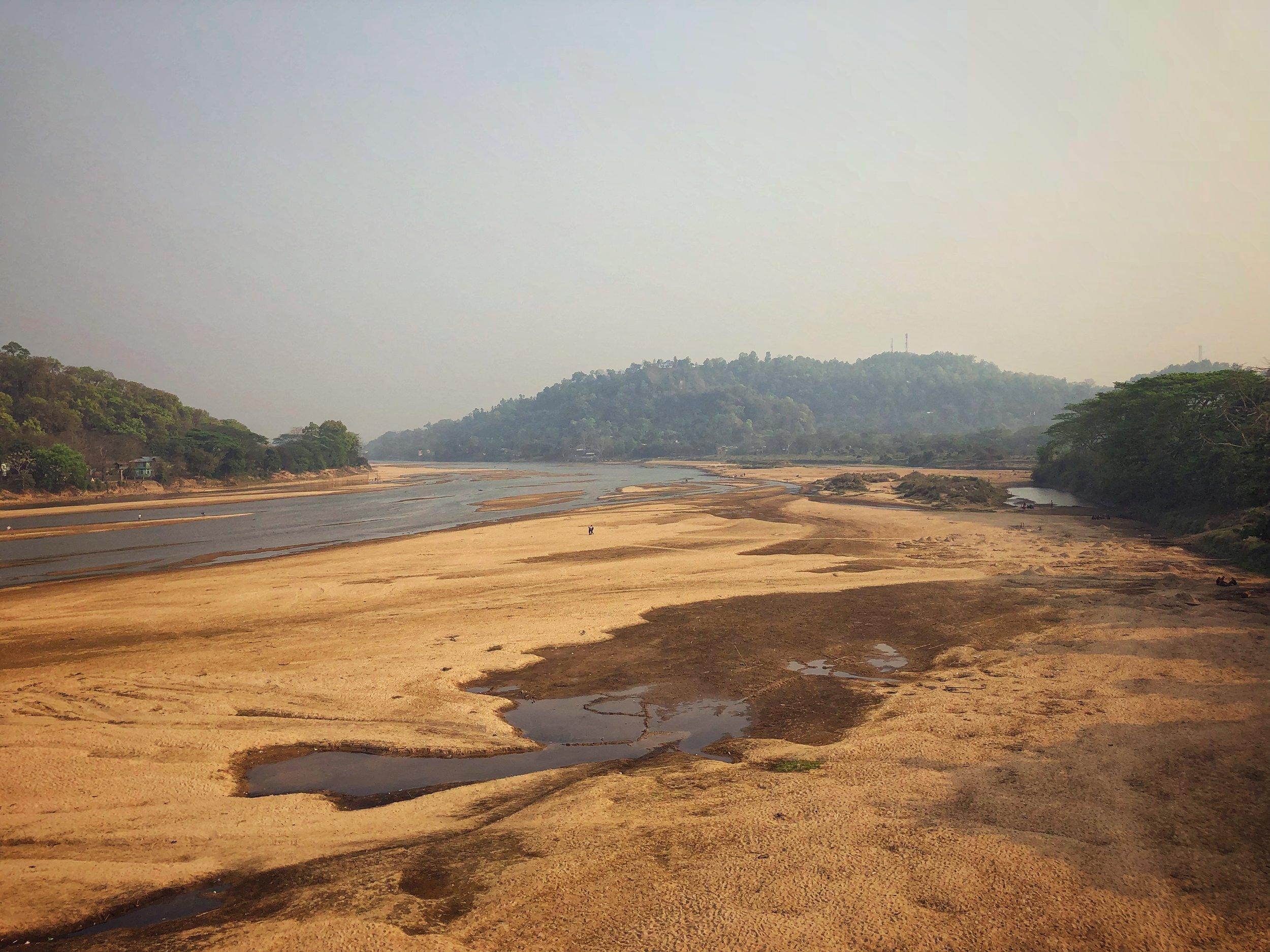 The Simsang River at Baghmara