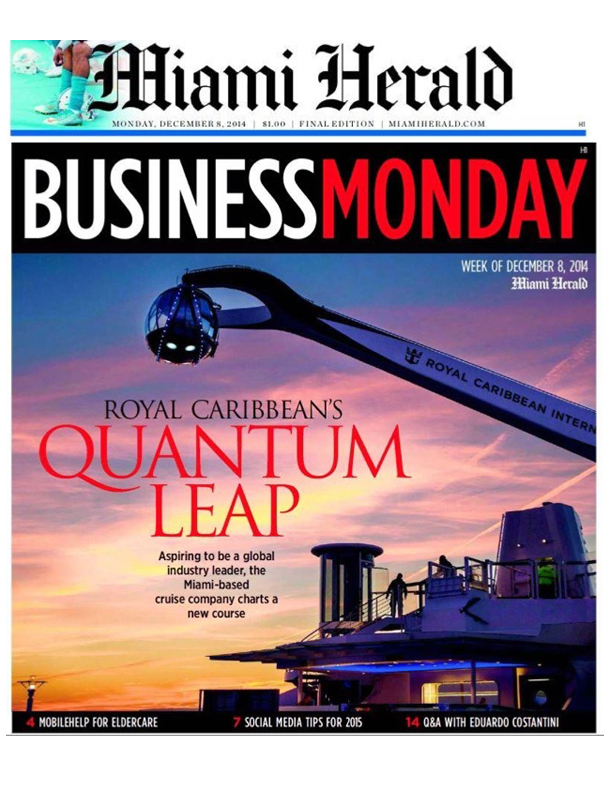 Miami Herald - 'Guru' from Argentina brings expertise here - 12.8.14