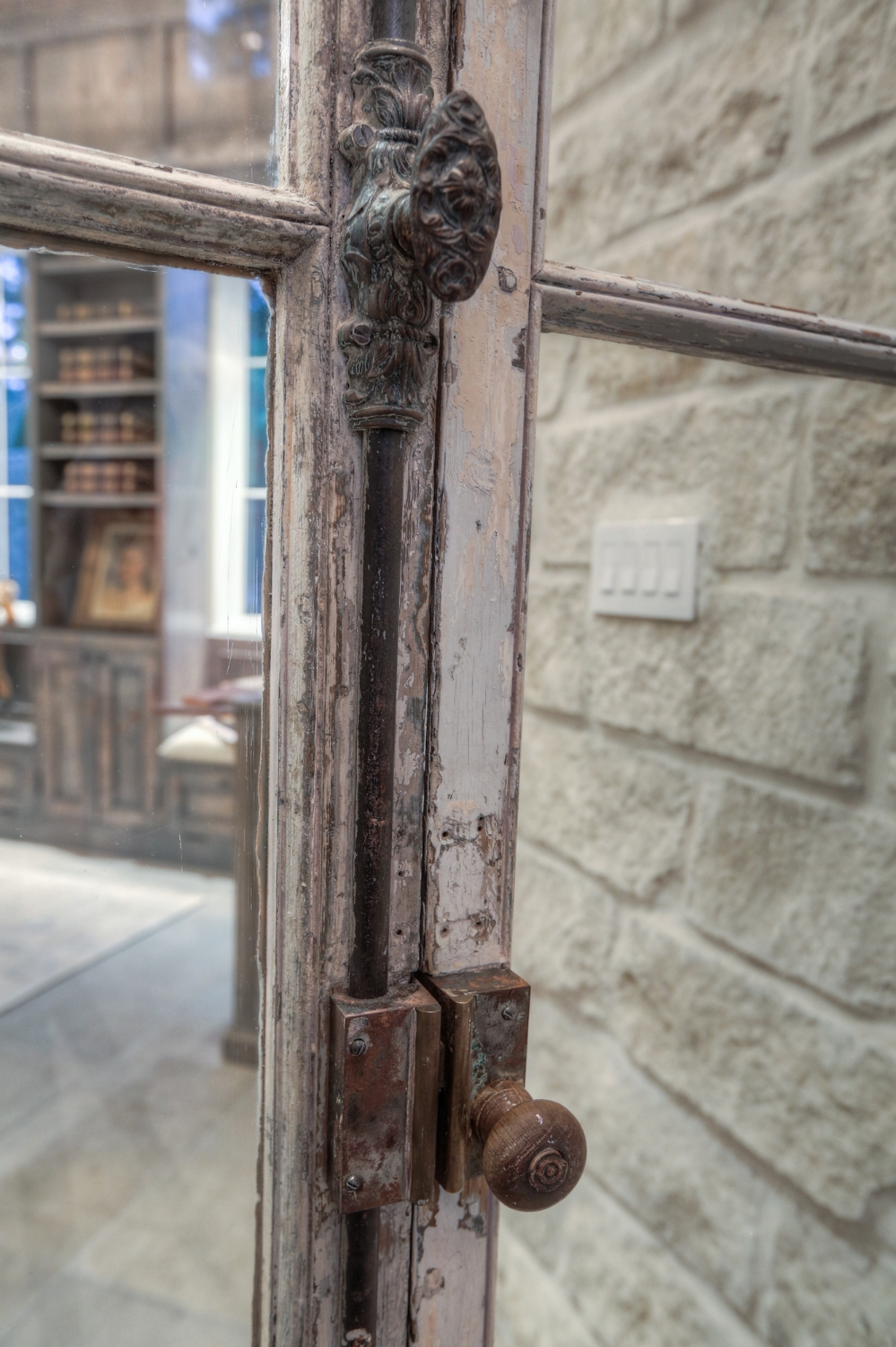 Antique Library Door