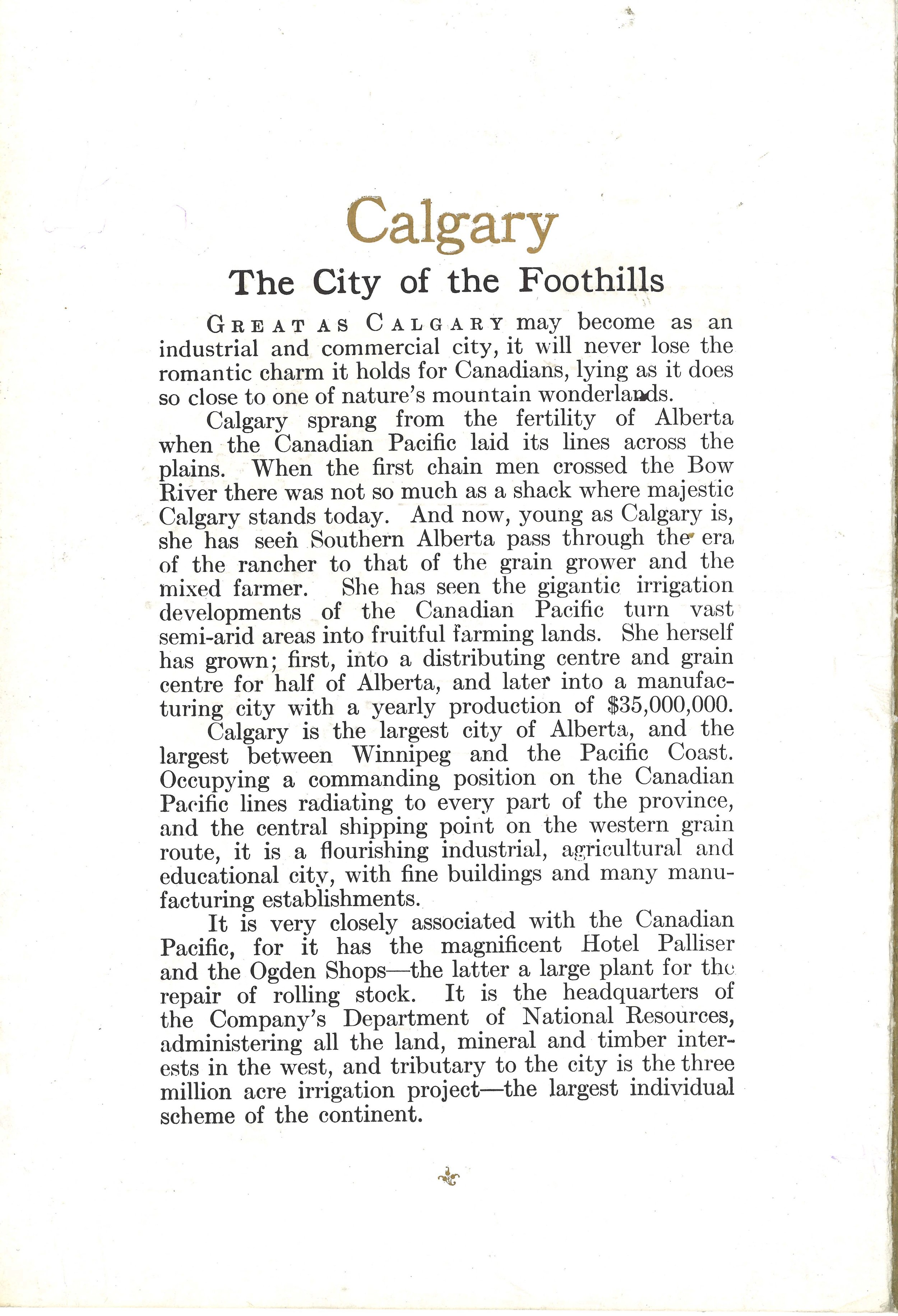 Canadian Pacific Calgary City of the Foothills Menu _sm3.jpg