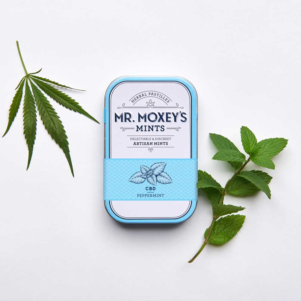 CBD Peppermint - Perfect for maintaining balance in mind and body, these soothing peppermint mints include Indian Gooseberry to support rejuvenation and Echinacea to boost immunity.