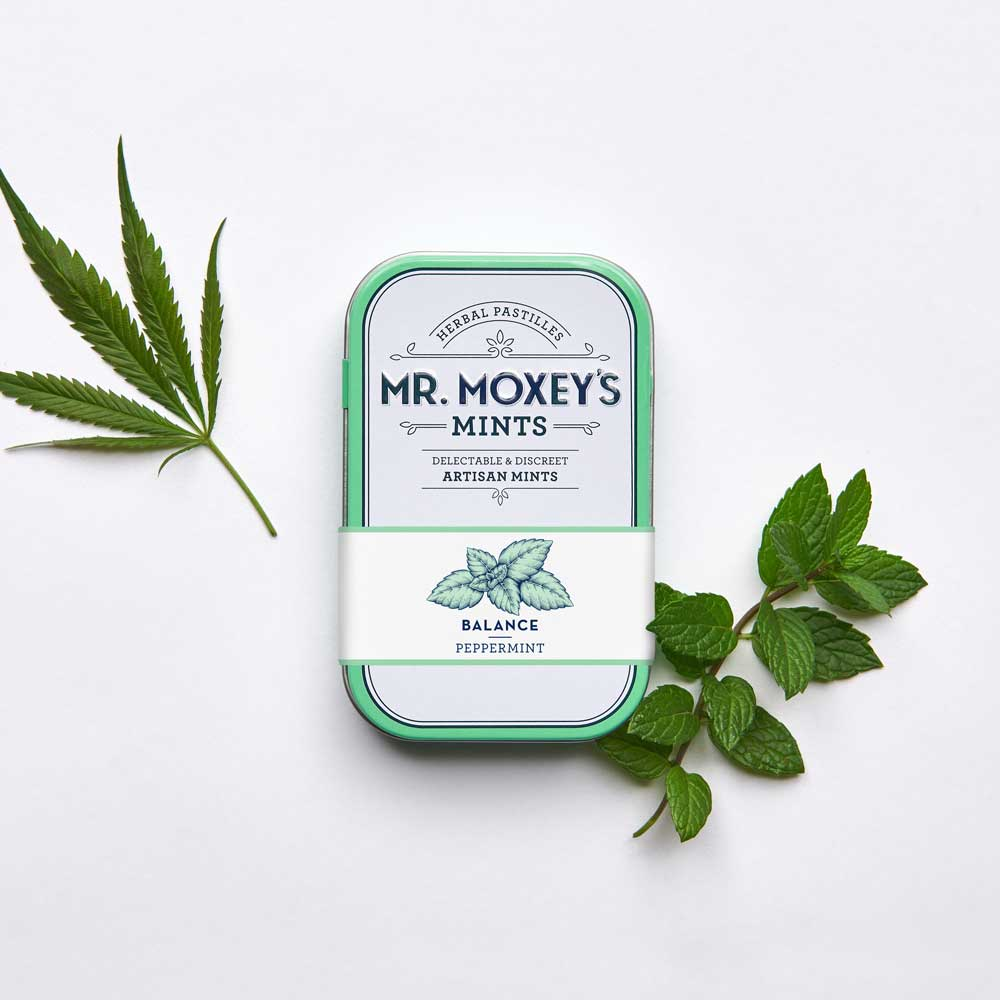 Balance Peppermint - These rejuvenating peppermint mints deliver a 1:1 blend of CBD and THC to support mind and body, enhanced with Siberian Ginseng to improve stamina and Gingko to promote clarity.