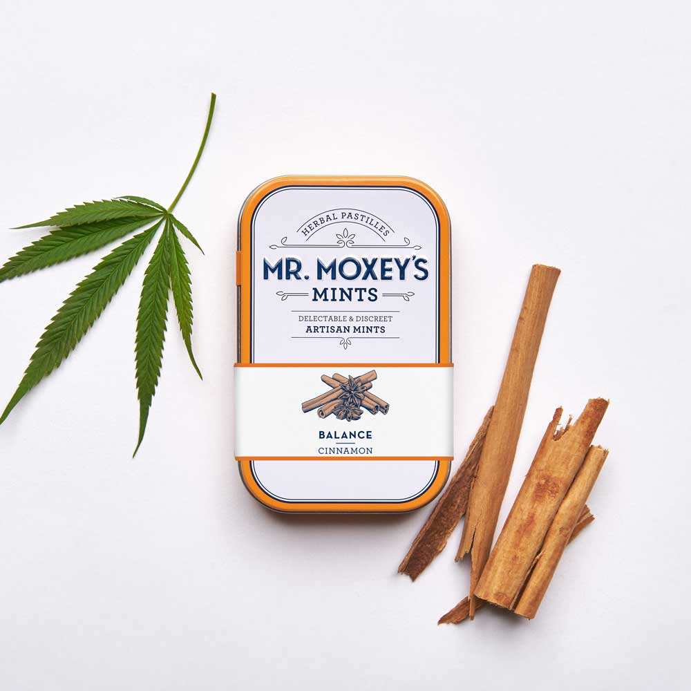 Balance Cinnamon - These rejuvenating cinnamon mints deliver a 1:1 blend of CBD and THC to support mind and body, enhanced with Siberian Ginseng to improve stamina and Gingko to promote clarity.