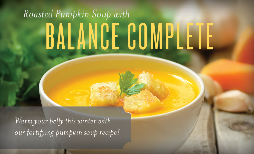 See more at  https://www.youngliving.com/blog/roasted-pumpkin-balance-complete-soup/