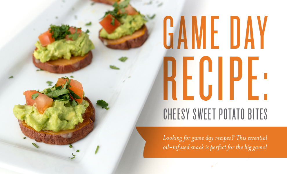 See more at  https://www.youngliving.com/blog/game-day-recipe-cheesy-sweet-potato-bites/