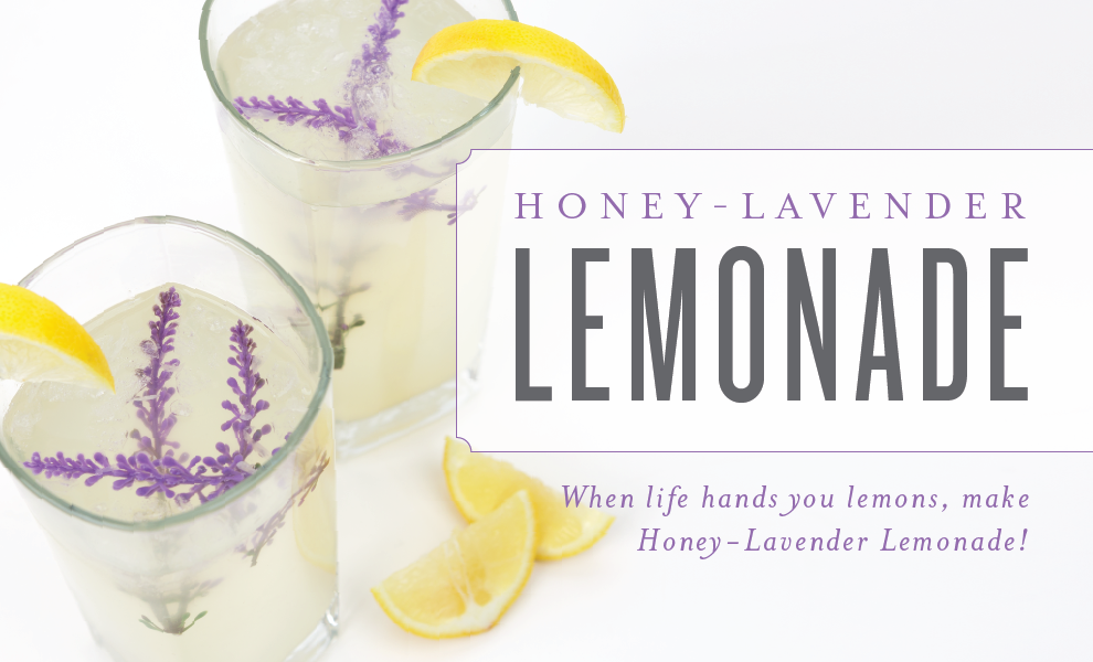See more at  https://www.youngliving.com/blog/honey-lavender-lemonade/