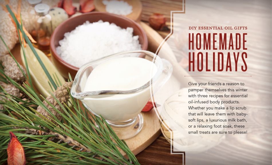 See more at  https://www.youngliving.com/blog/homemade-holidays-diy-essential-oil-gifts/