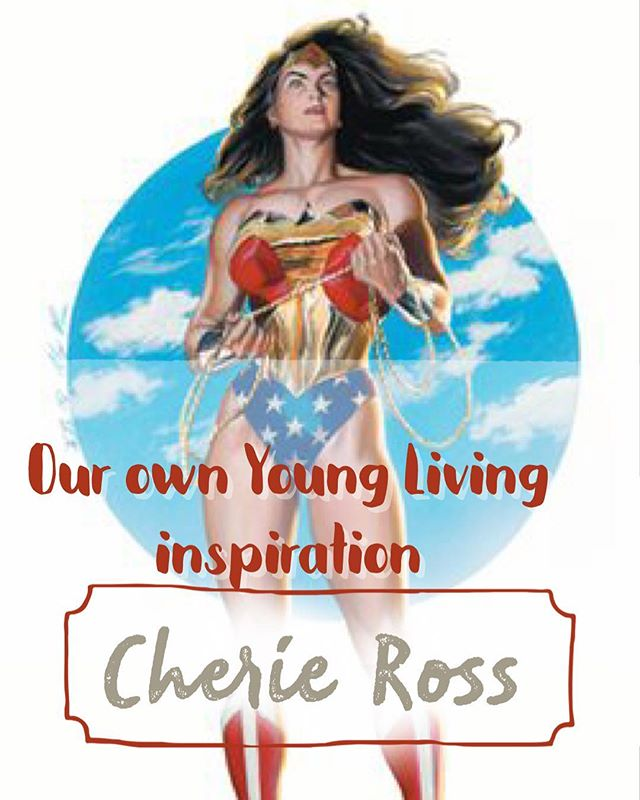 Thank you, Young Living, for bringing Cherie Ross to us today!!! She moved me to tears... #okcbeautyschool