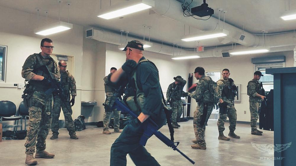 PTK-SMF training Michigan National Guard.