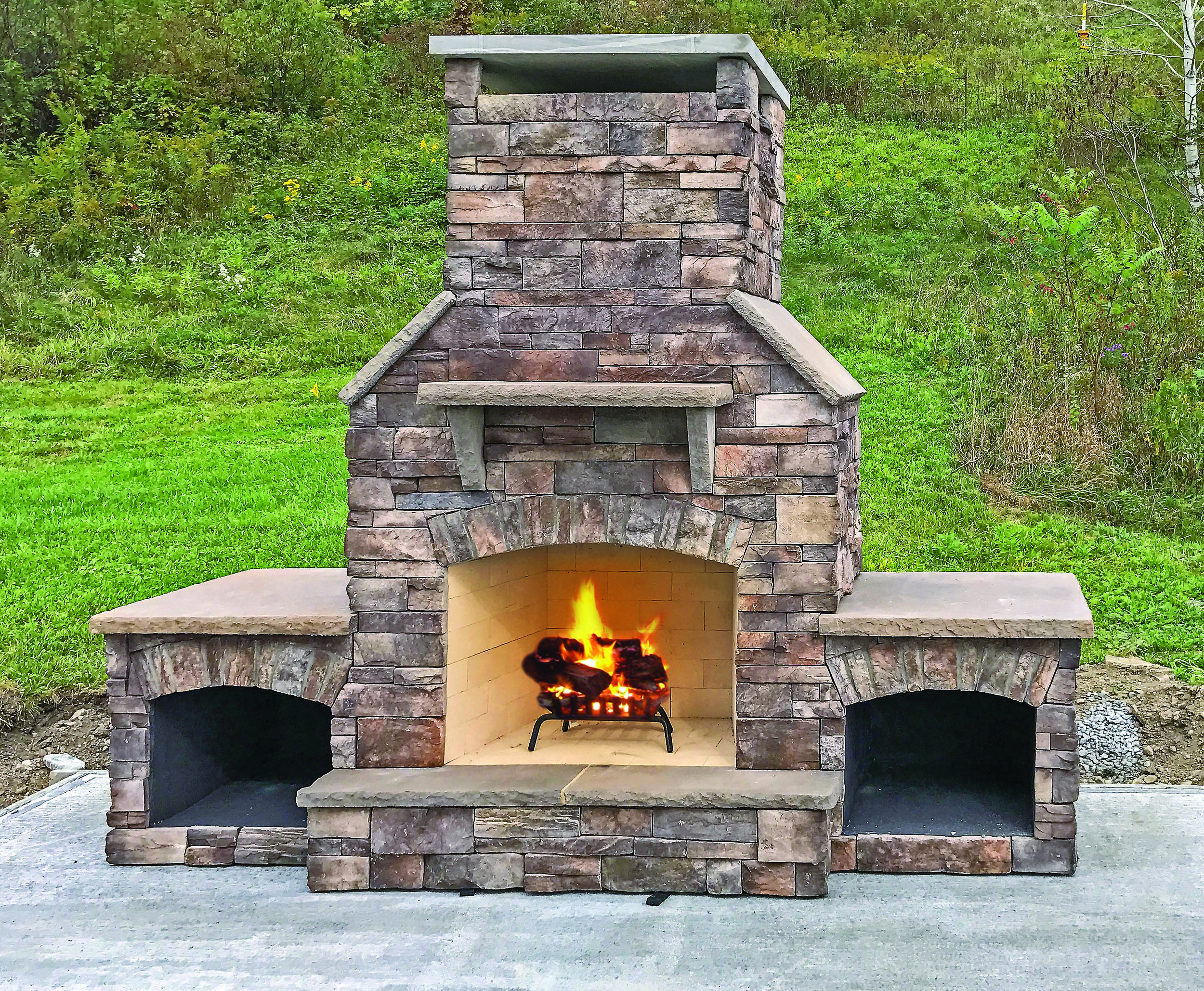 Half Dome fireplace w_fire boxes-1_withFlame.jpg