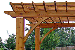 Arched Corner Supports -