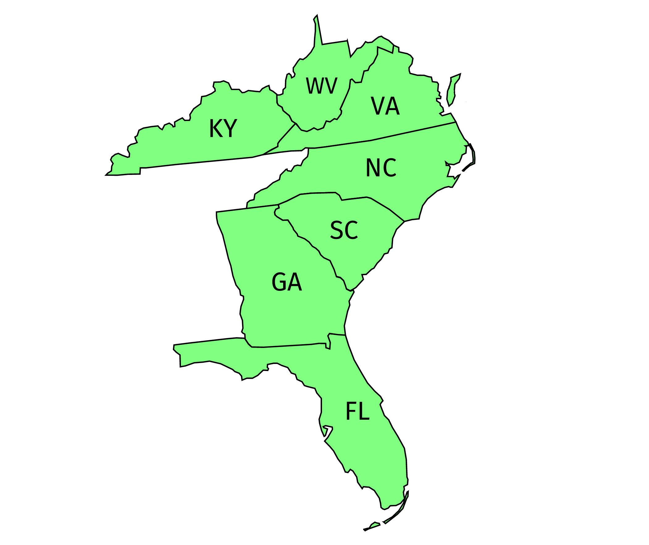 Southeastern Region -