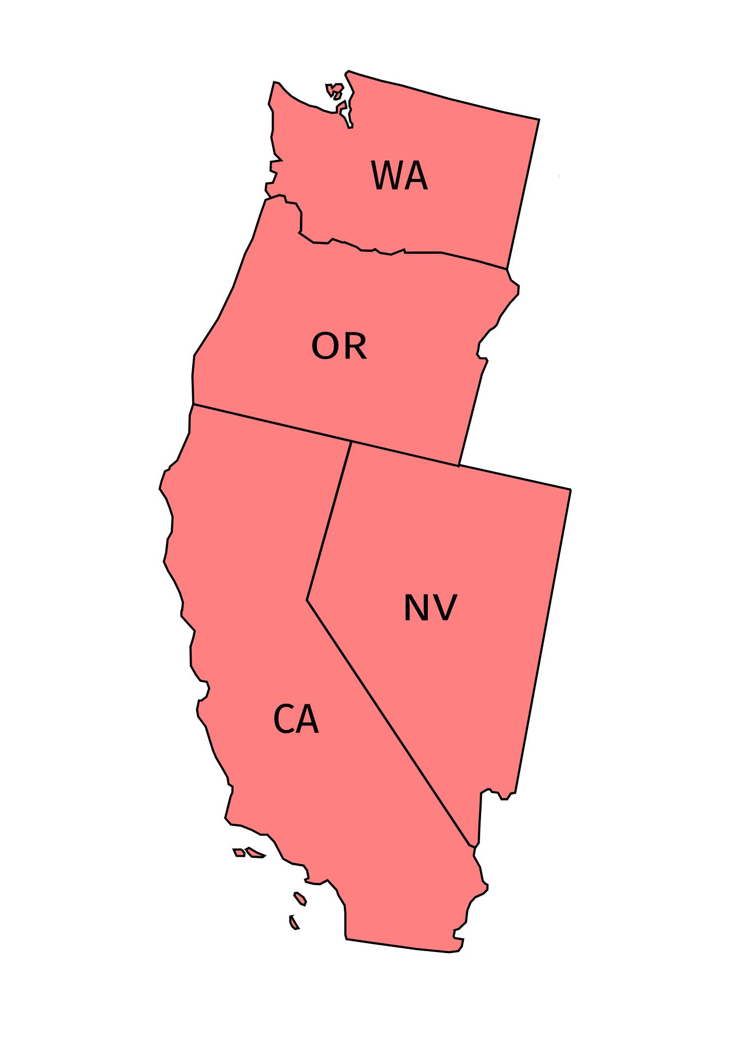 Pacific region -