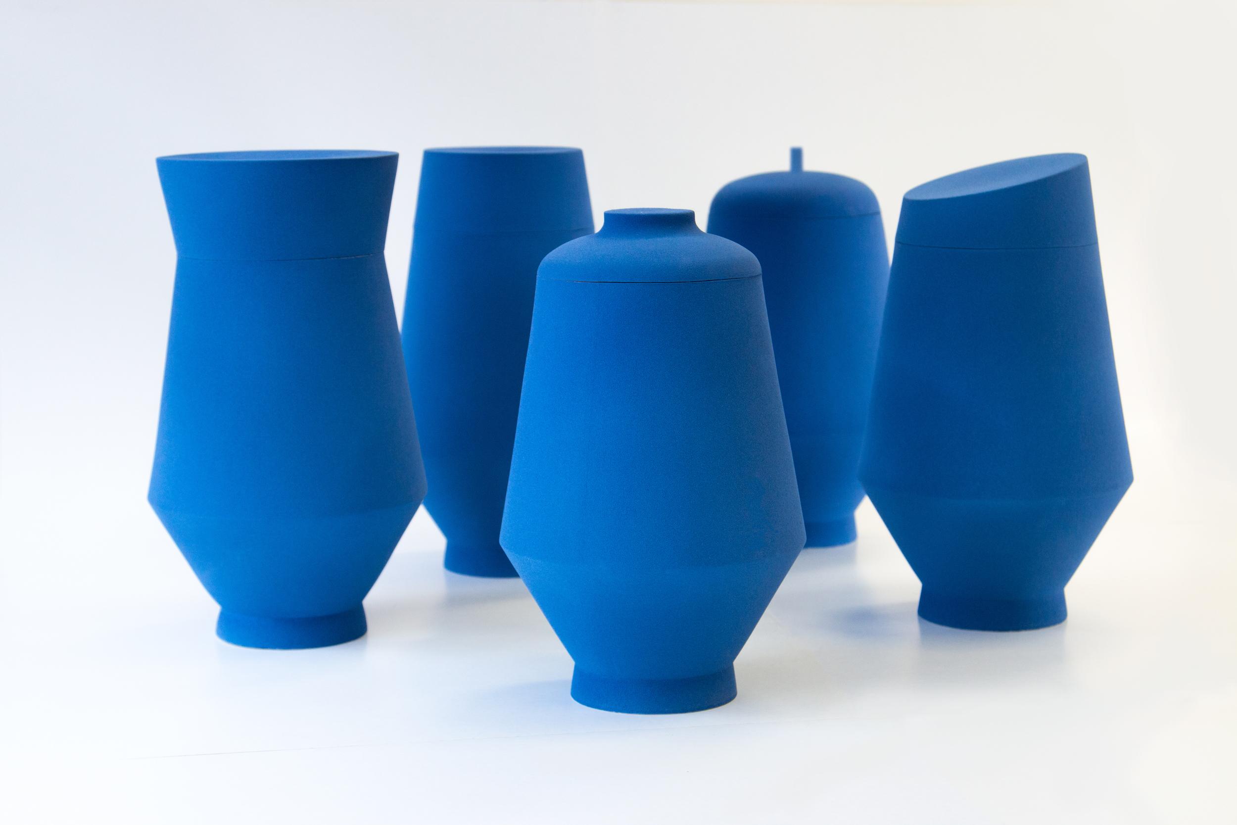 Tall urns
