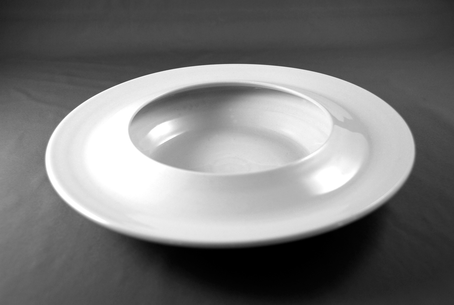 Bowl-plate for pastas front view