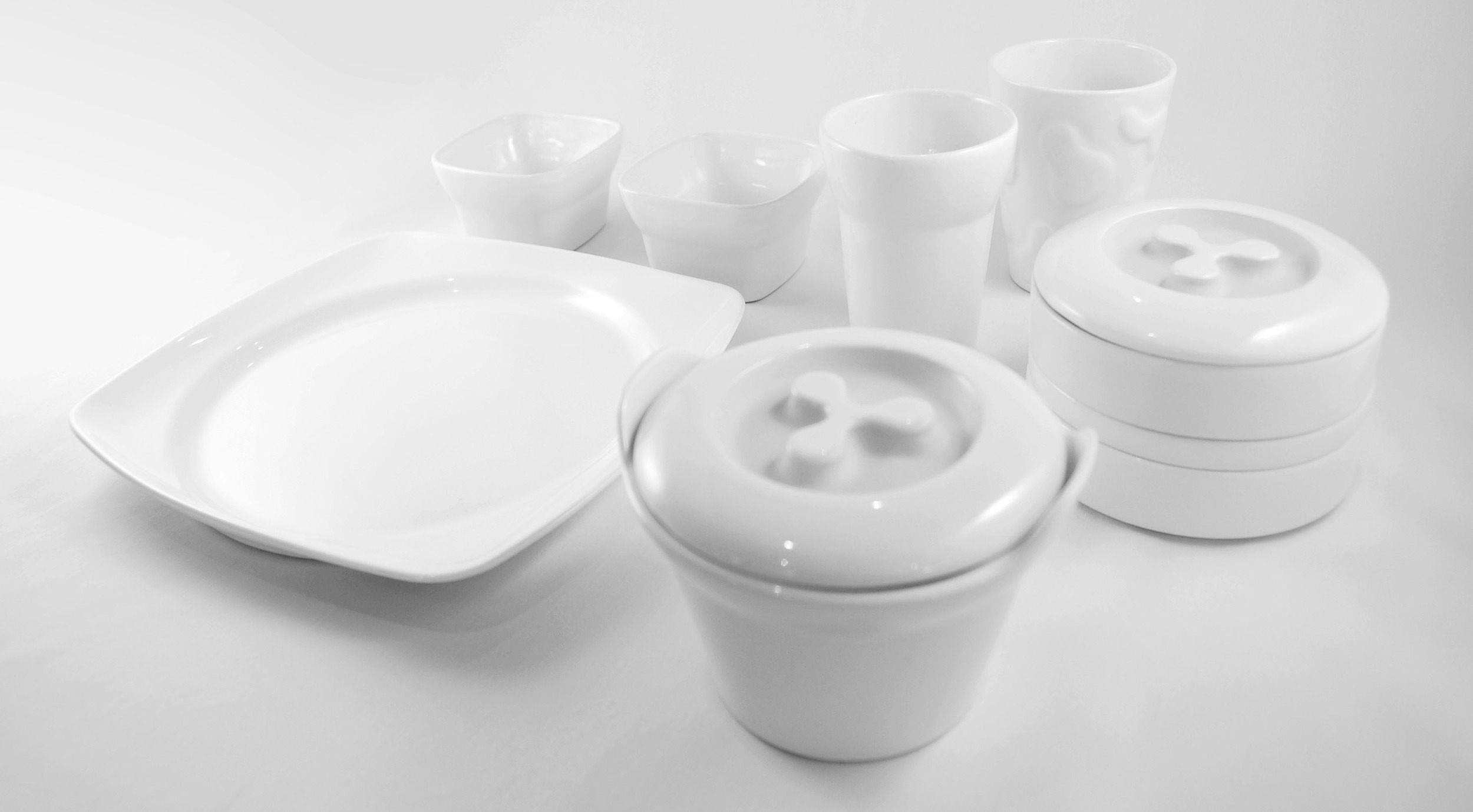 Réconfort hospital tableware collection