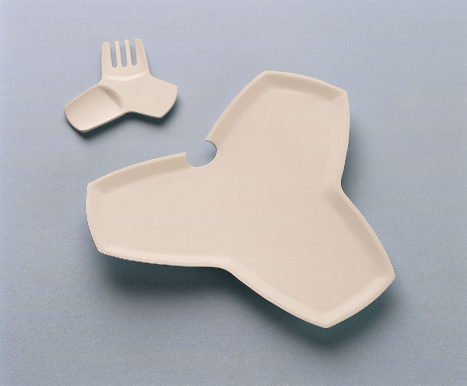Catering Plate and Cutlery