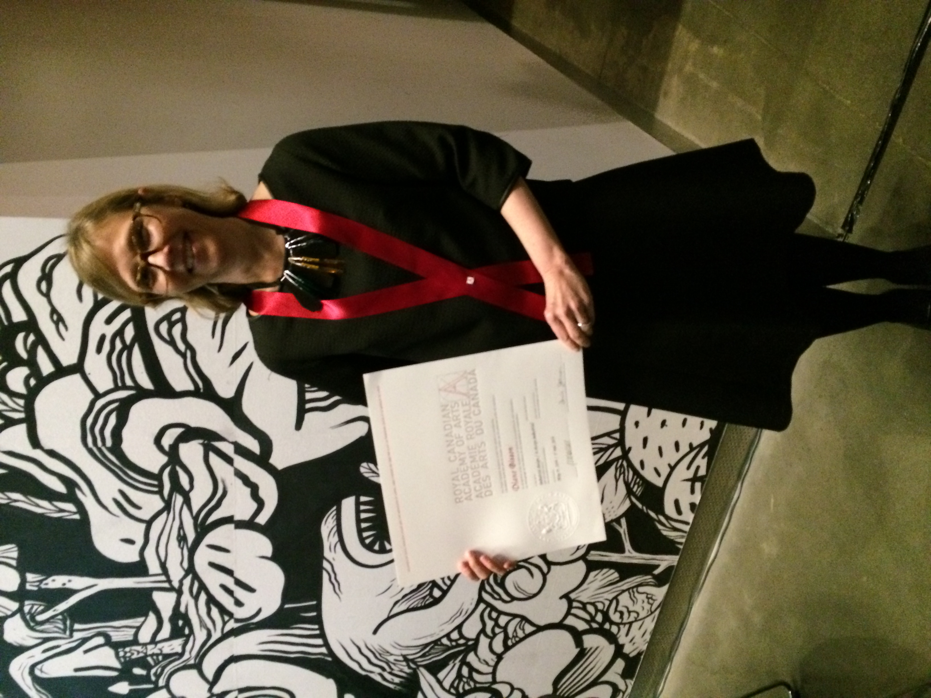 Diane Leclair Bisson was inducted into the RCA in 2014
