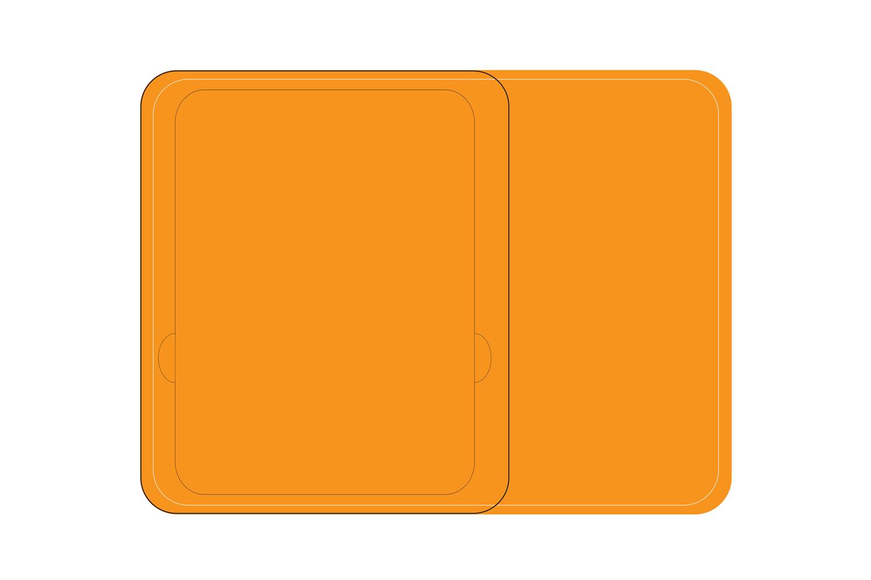 Réconfort hospital tableware tray
