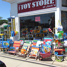 THE TOY STORE AT JACK'S