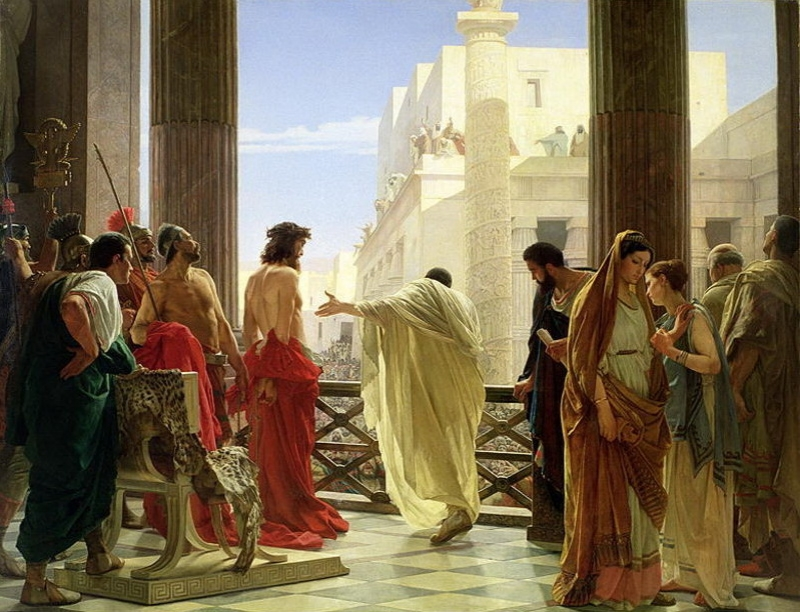 Antonio Ciseri (1821-1891),  Ecce Homo , 1871. Gallery of Modern Art, Florence, Italy.